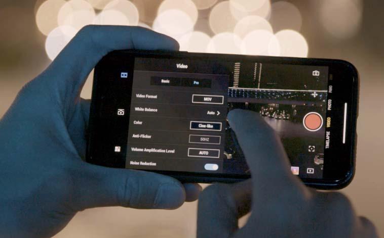 aplikacja Osmo Pocket