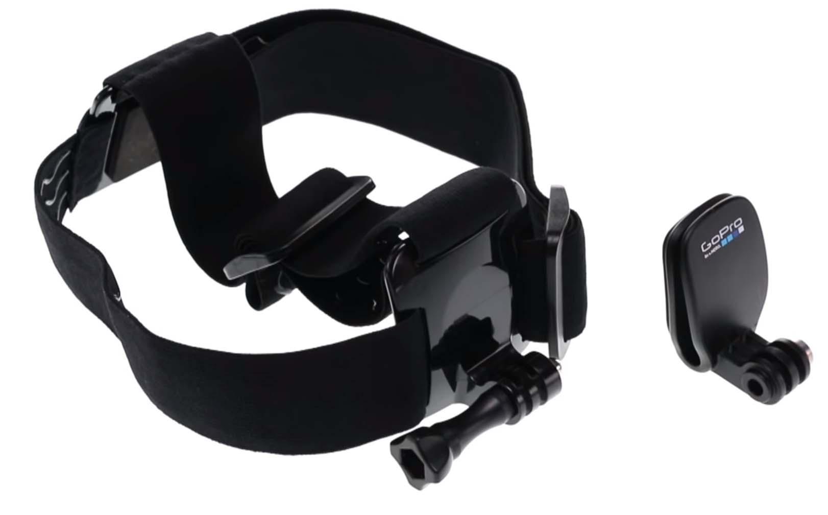 zestaw mocowanie na głowę pasek kamer