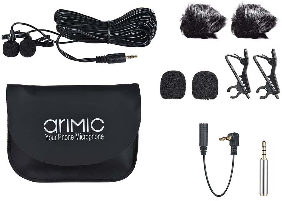AriMic mikrofon krawatowy