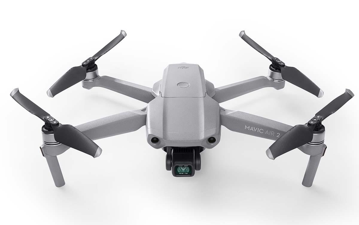 dron z HDR mavic air 2
