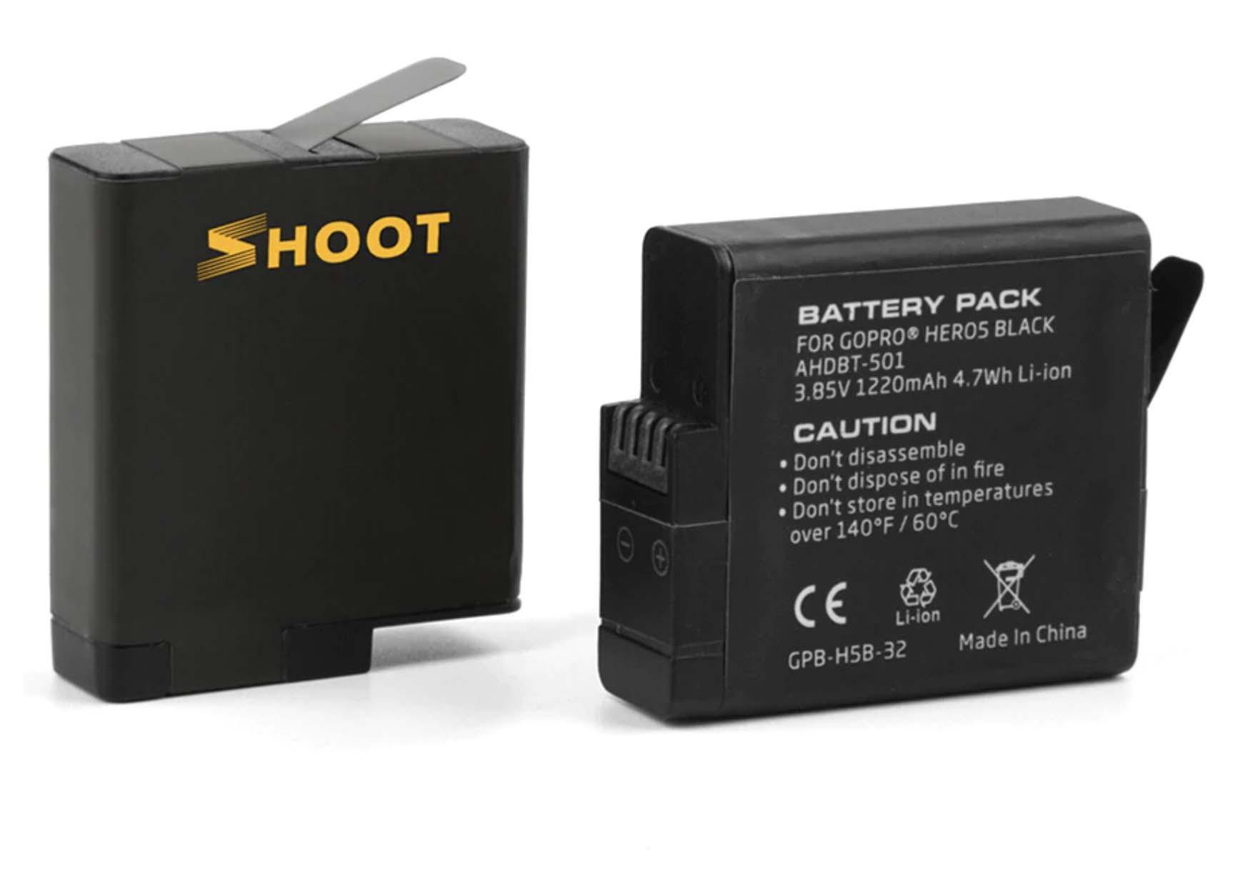 akumulatory do go pro hero 5 6 7 8