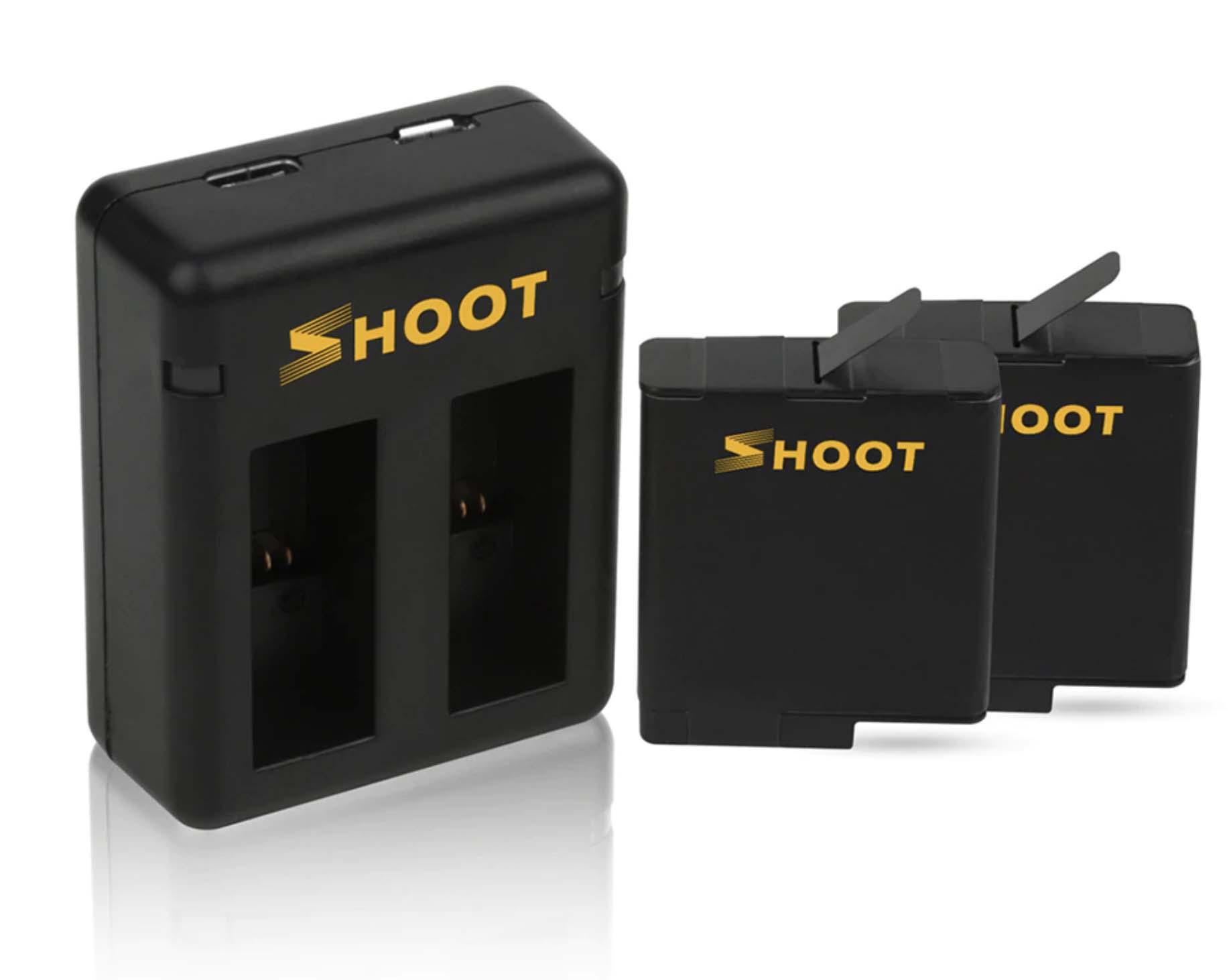 ładowarka z akumulatorami shoot do gopro