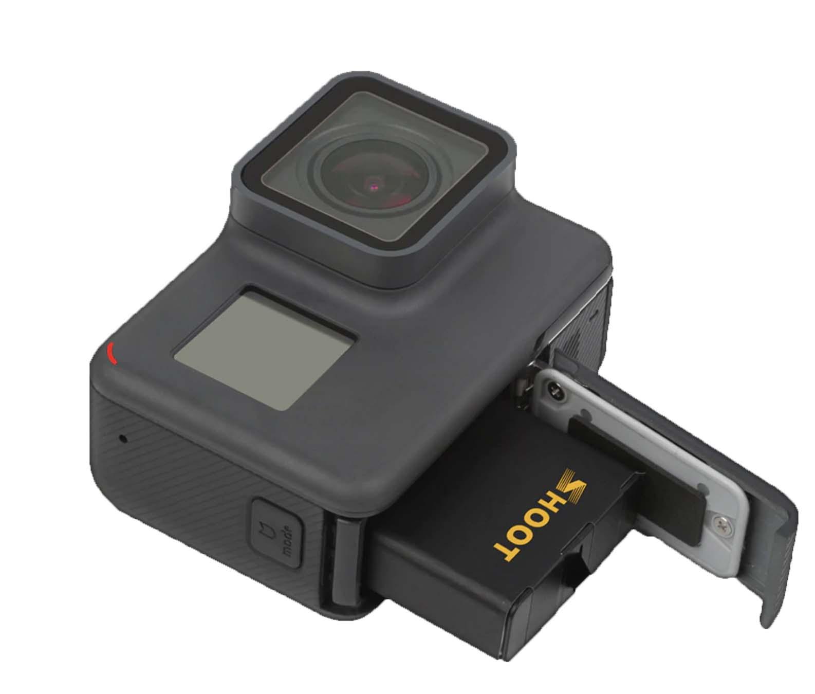 ladowanie bateri kamery sportowej go pro