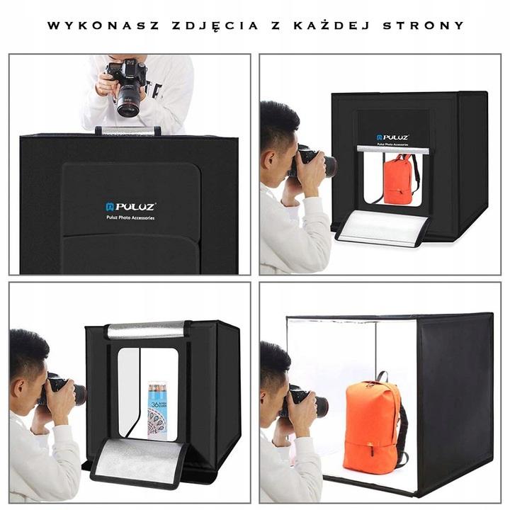 namiot do fotografi produktowej